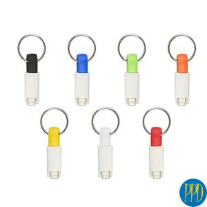 custom cables with business logo for New York and New Jersey business and promotional product marketers.