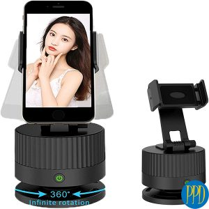 rotating phone stand for New York and New Jersey business marketers.