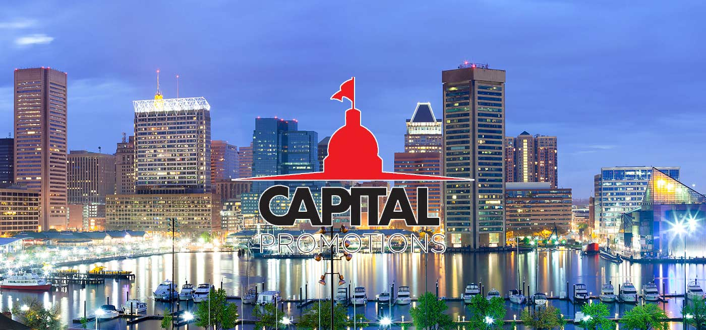 promotional products, trade show, swag, promotional product direct, Brian Golden, Capital, Promotions, Baltimore, Maryland